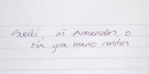 mano raštas