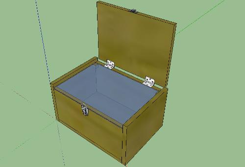 3D Box - SketchUp